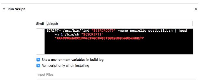 Error Archiving iOS App - Mobile - New Relic Explorers Hub