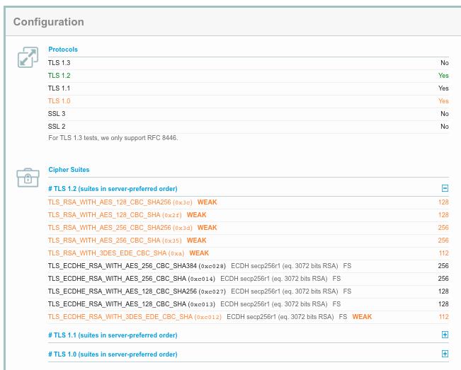 javax net ssl SSLHandshakeException: No appropriate protocol